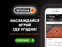 Букмекерская контора Winlinebet.ru, обзор БК Winline Bet